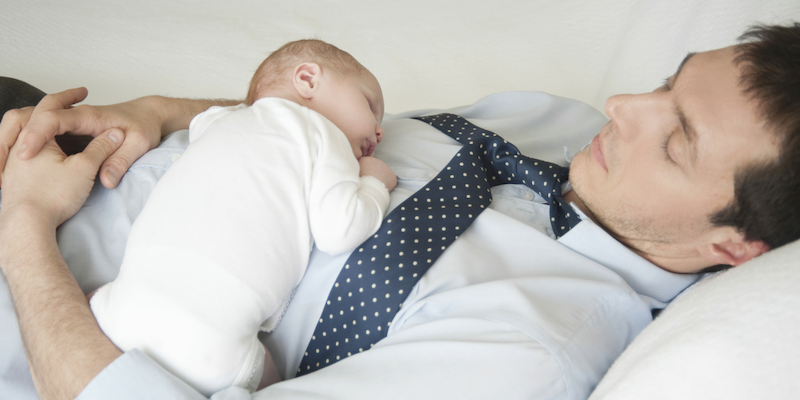 jeune papa : comment gérer les nuits